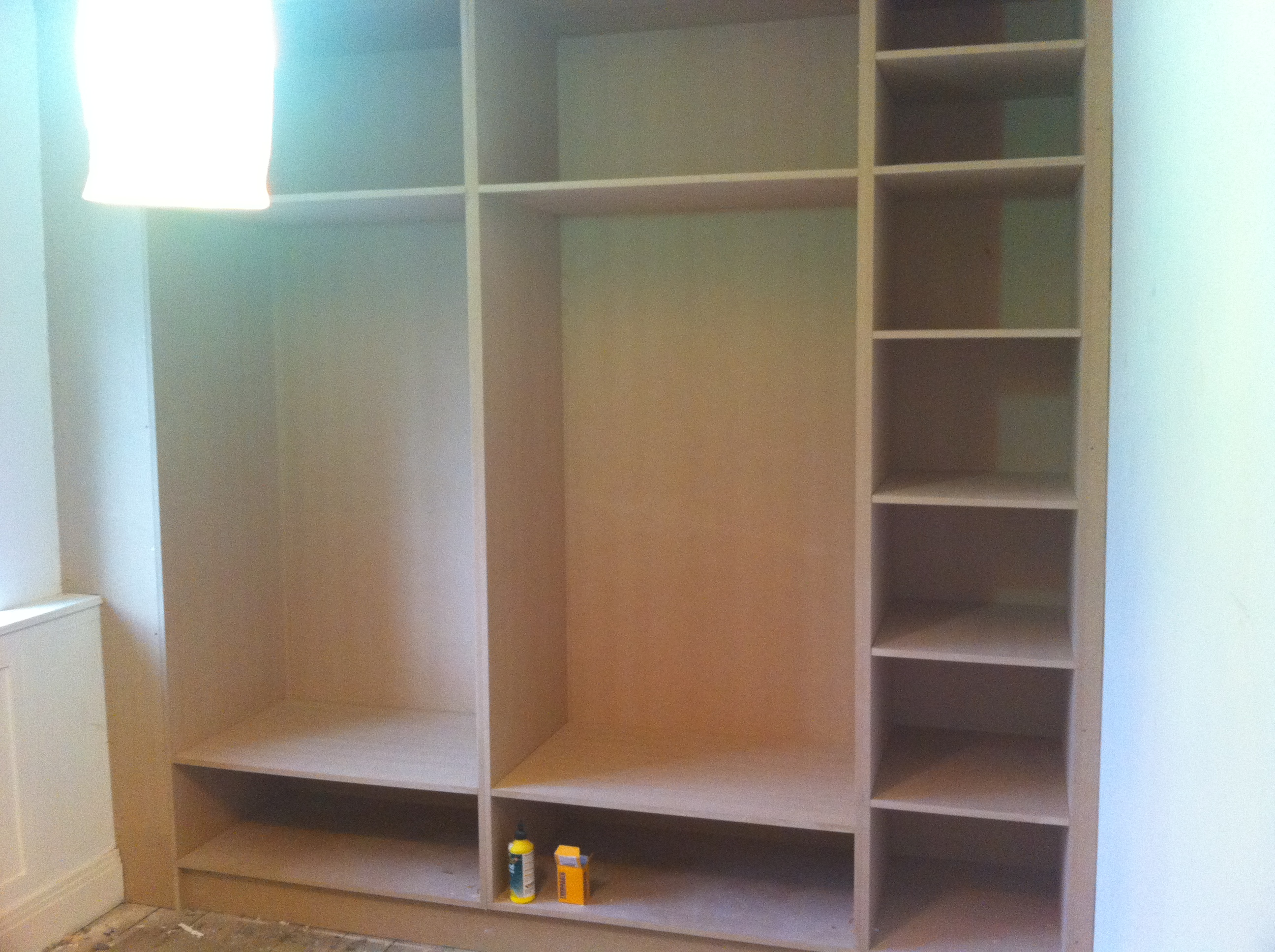 Haverstock Hill NW3 Bespoke Shelving