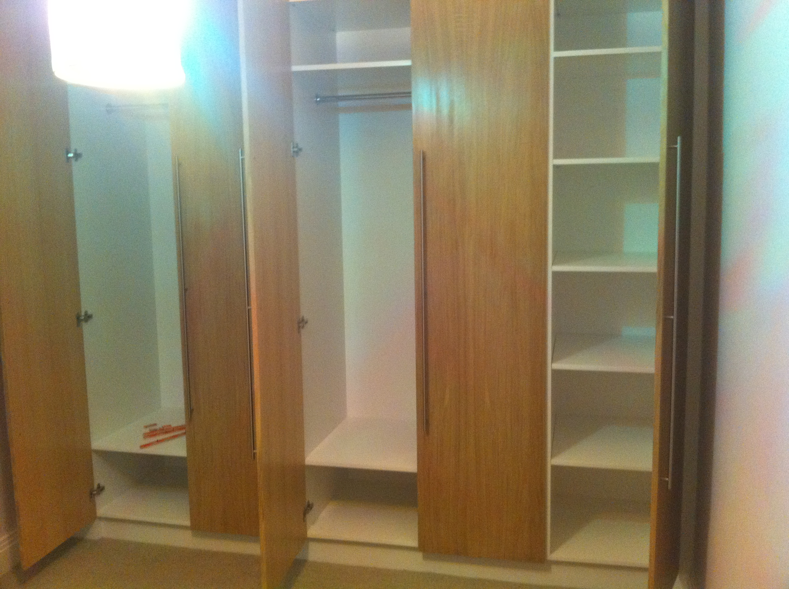 Haverstock Hill NW3 Further new shelving