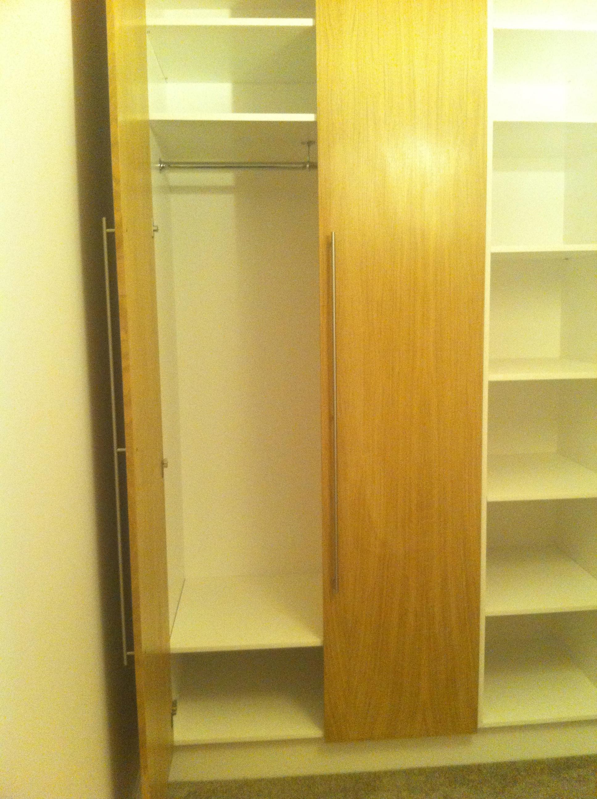 Haverstock Hill NW3 Wardrobe interior