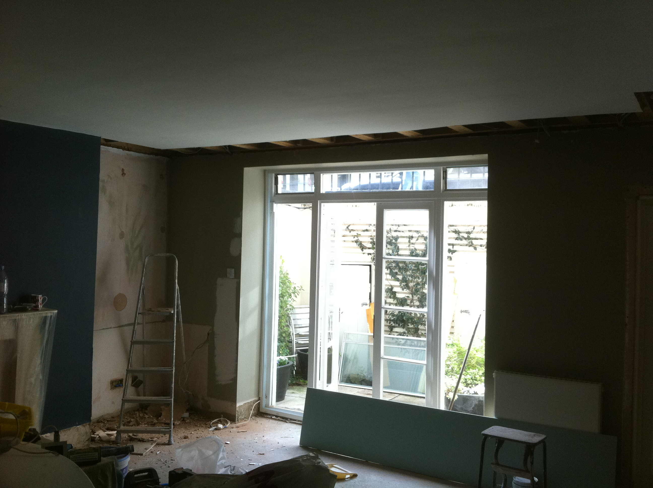 Randolph Avenue W9 French Windows and floor fitting