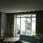 French Windows and floor fitting
