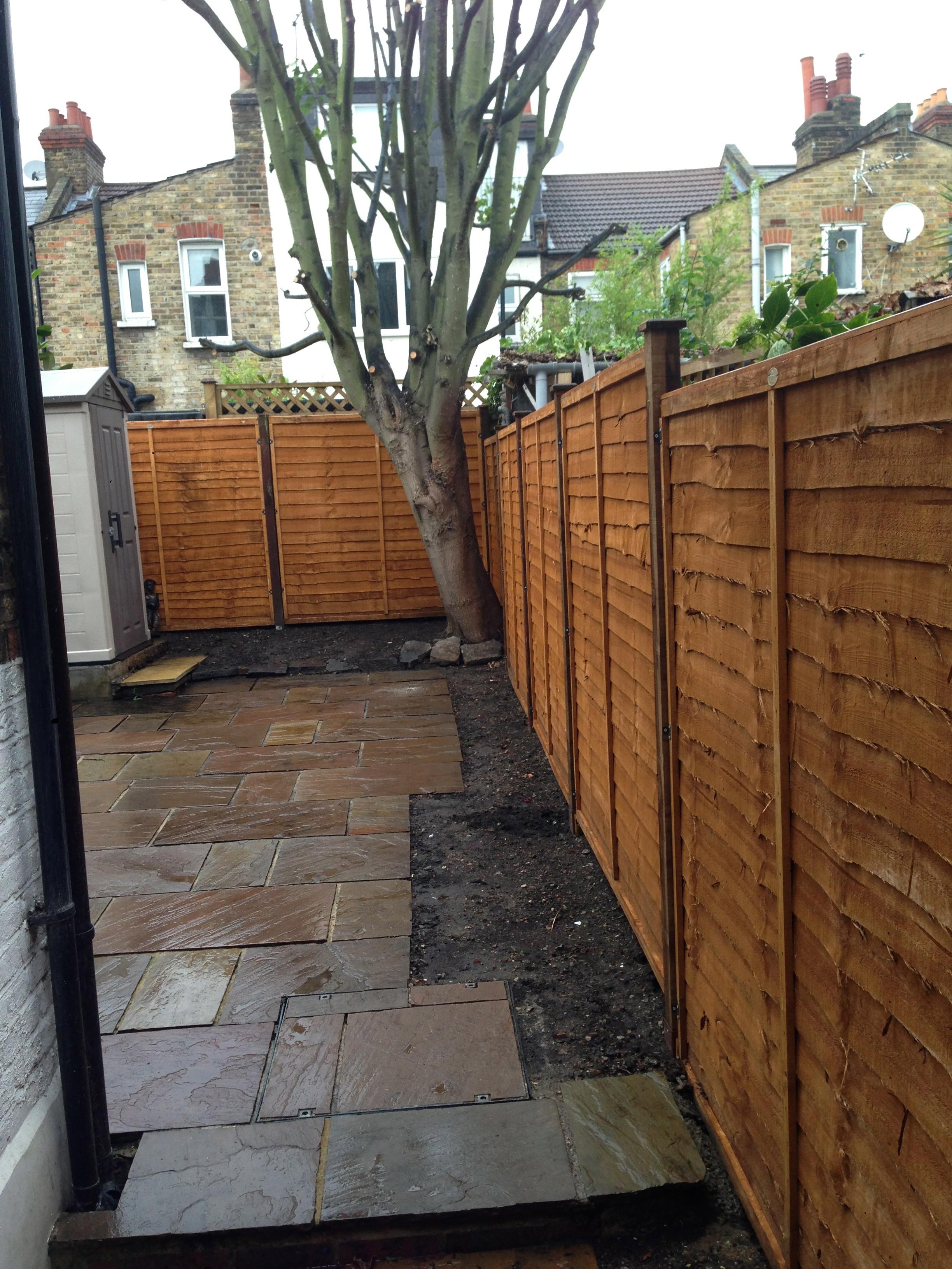 Thorndean St SW18 New garden fence