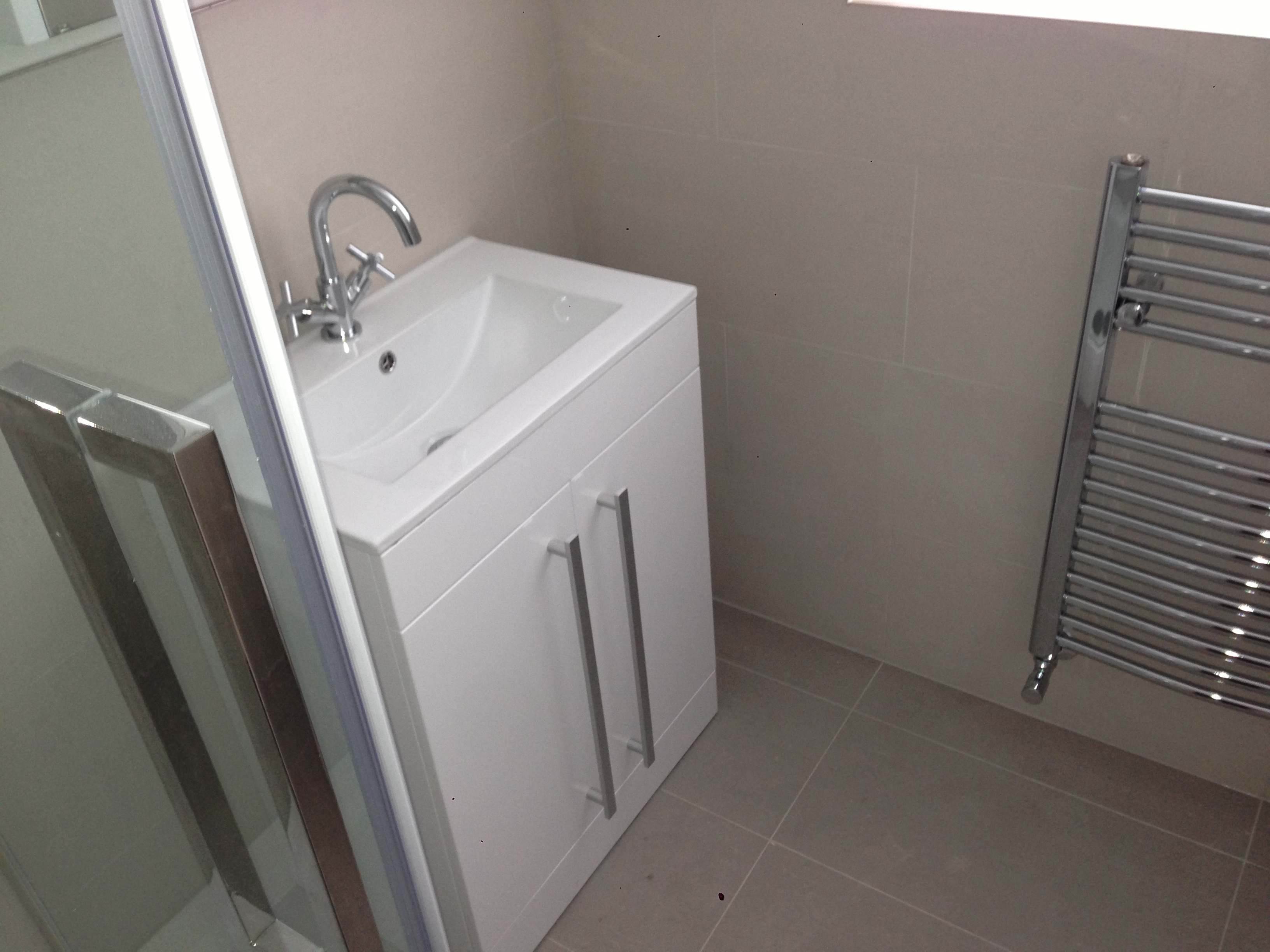 Thorndean St SW18 New shower and bathroom fitting