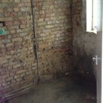 Stripping down a wall for replastering