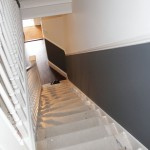 Staircase and lobbies after redecoration
