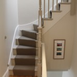 repair and redecoration of the staircase