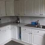 kitchen before installed dishwasher