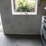 before new tiling