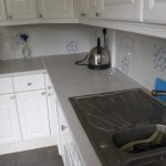 work surfaces before