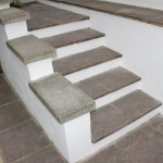exterior steps befroe painting